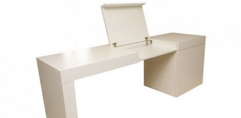 Desk for laptop working