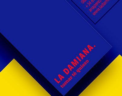 "Check out new work on my @Behance portfolio: ""LA DAMIANA tea shop"" http://be.net/gallery/53995055/LA-DAMIANA-tea-shop"