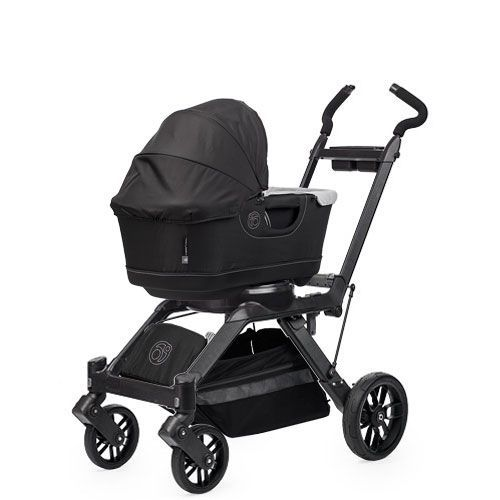 Sleep baby and Stroll - Stroll your baby to sleep, and then simply remove the Bassinet and take it (and sleeping baby inside) with you.