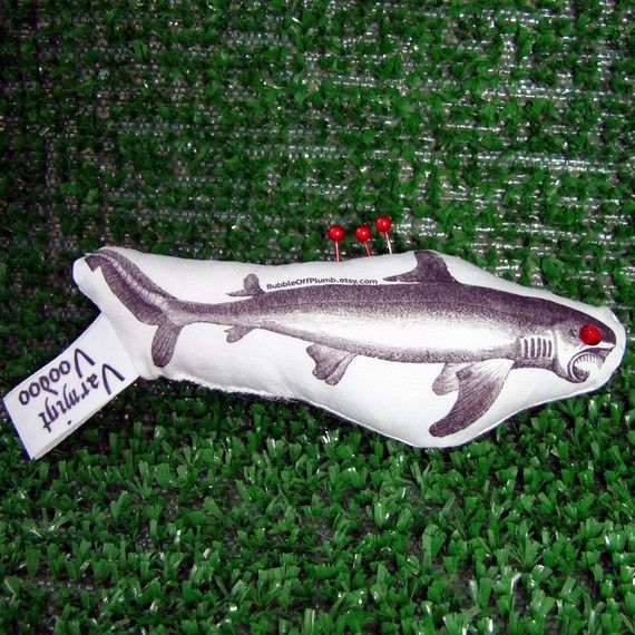 Varmint Voodoo: Shark Edition!  For the phobic or surfer on your list!