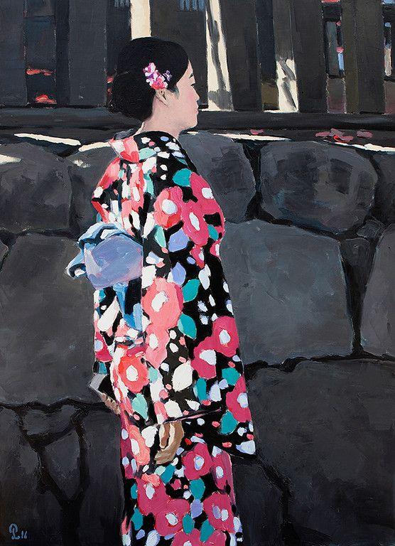 "Oil on Canvas - 110cm x 80cm Exhibition - ""Seasons of Japan"" ANA InterContinental Tokyo Nov. 10, 2016 - Feb. 5, 2017 InquiryPin it"