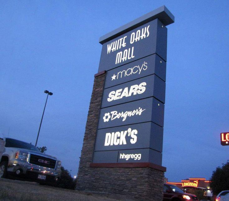 White Oaks Mall Pylon Sign