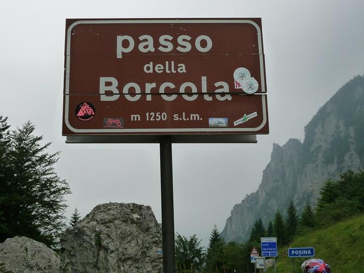 Passo della Borcola (1250 m) - Alpi Occidentali