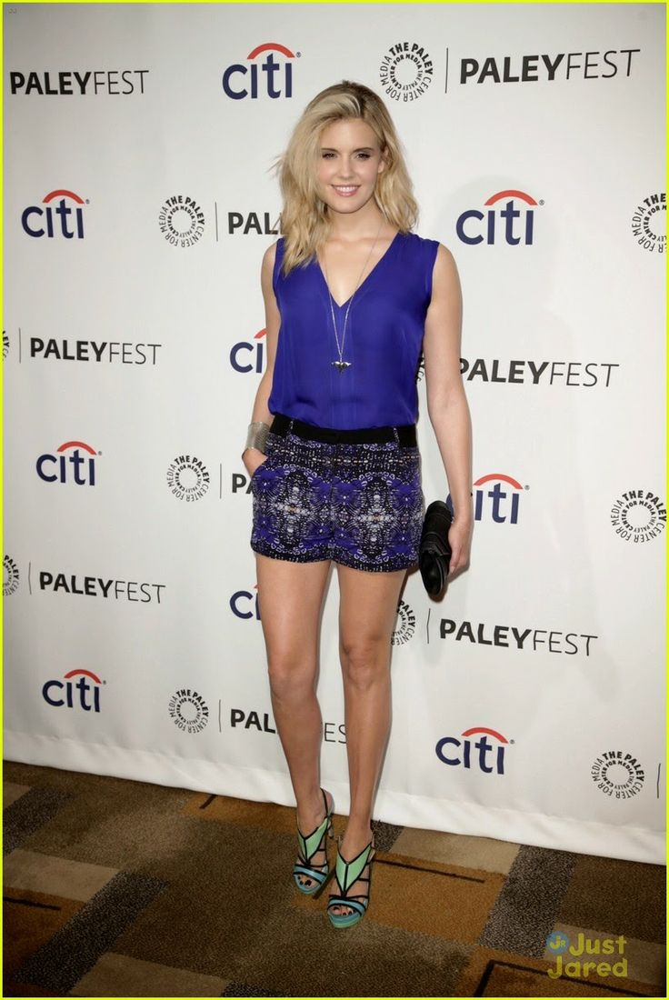 Maggie Grace at Lost 10th Anniversary Reunion during the 2014 Paleyfest