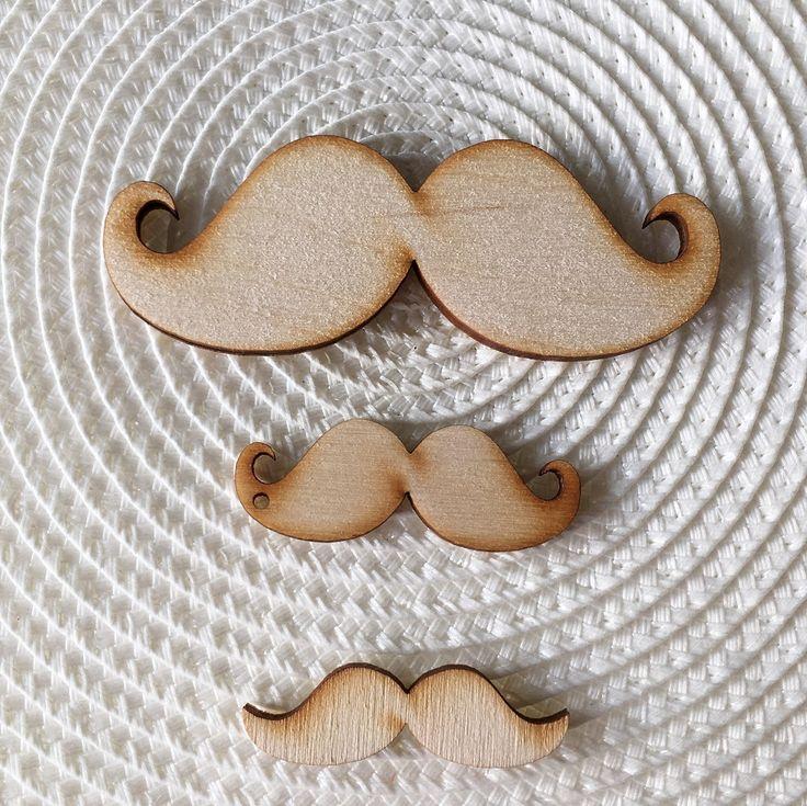 Cretan Moustache Wooden Decorative