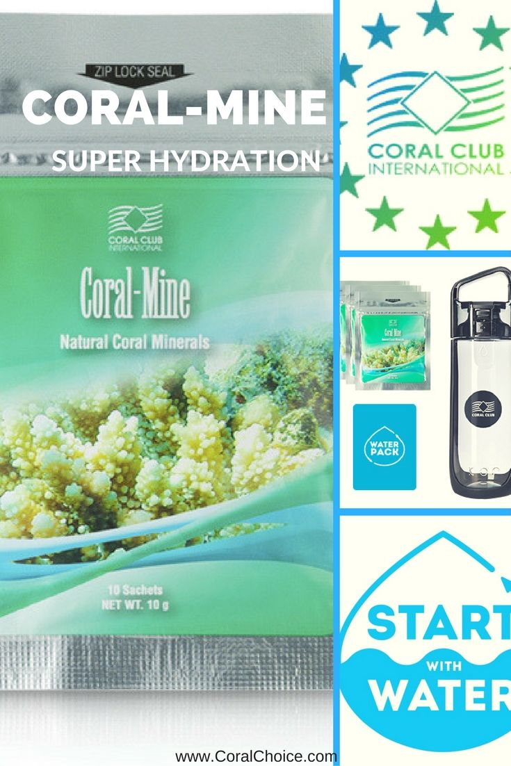 Start with #CoralMine as 1st Step: Superhydration in Your #4StepsToHealth https://www.coralchoice.com/4-steps-to-health?utm_content=buffer0bf6a&utm_medium=social&utm_source=pinterest.com&utm_campaign=buffer #CoralClub #ColoVada #CoralOrder