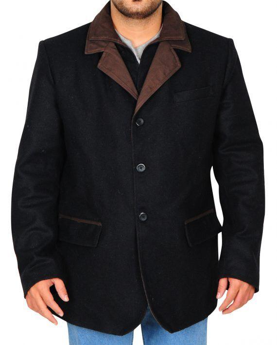 Hap Briggs Elegant Black TV Coat