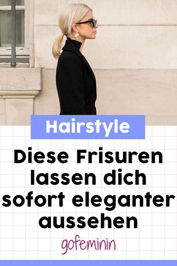 Diese Frisuren lassen Sie sofort eleganter (und ernster) aussehen.