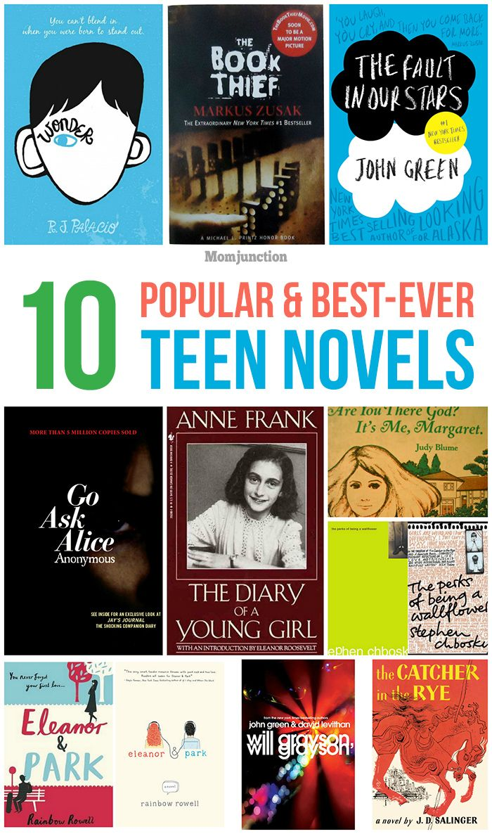 Top 10 Popular & Best-Ever Teen #Novels :Browse through our compilation below and inculcate the reading habit in your teen.