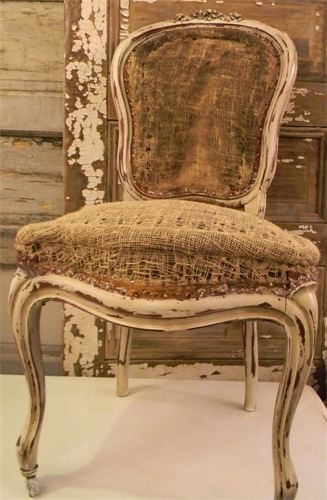 Vintage Rose (stripped)Chair
