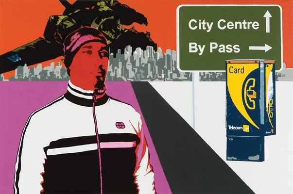 Kelcy Taratoa Episode 17 2005 Acrylic on canvas