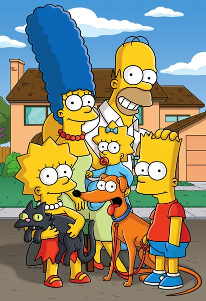 The love I have for this little yellow family :') You know your a Simpsons fan when you tear up if homer is upset.