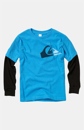 Quiksilver Layered Sleeve T-Shirt (Toddler) available at #Nordstrom