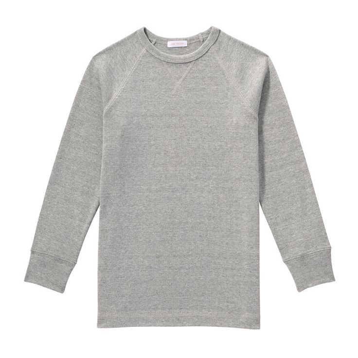 Kid Boys' Rib Knit Tee from Joe Fresh. Pick him up a classic long sleeve tee to pair with all his cords and jeans this season. Only $6.94.