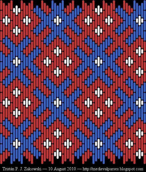 Taschen: New brickstitch patterns for your enjoyment