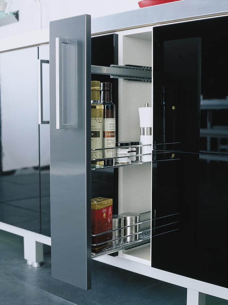 Pull Out Larder #storage #solutions