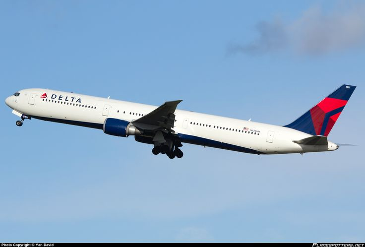 N825MH Delta Air Lines Boeing 767-432(ER)