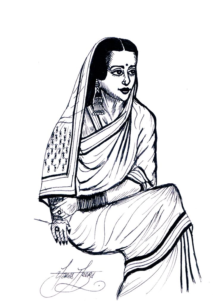 Today's Illustrated Women in History were written and illustrated by Paras Arora. The illustration of Amrita Shergil and the biography of Pandita Ramabai are featured in the second issue of the Illustrated Women in History zine which you can order...