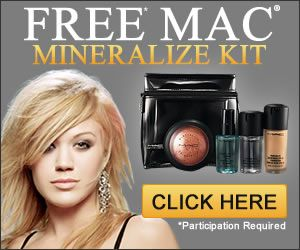 Get A Free MAC Mineralize kit Now       http://manyfree.net/free-mac-mineralize-kit/