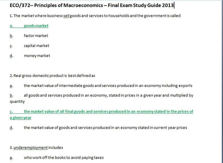 The 25 best macroeconomics study guide ideas on pinterest eco372 finalexam 2013 fandeluxe Choice Image