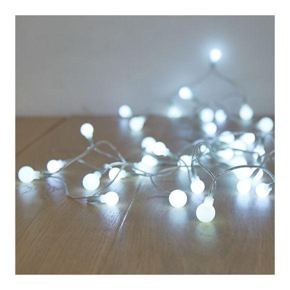 Guirlande LED perles 40 lampes