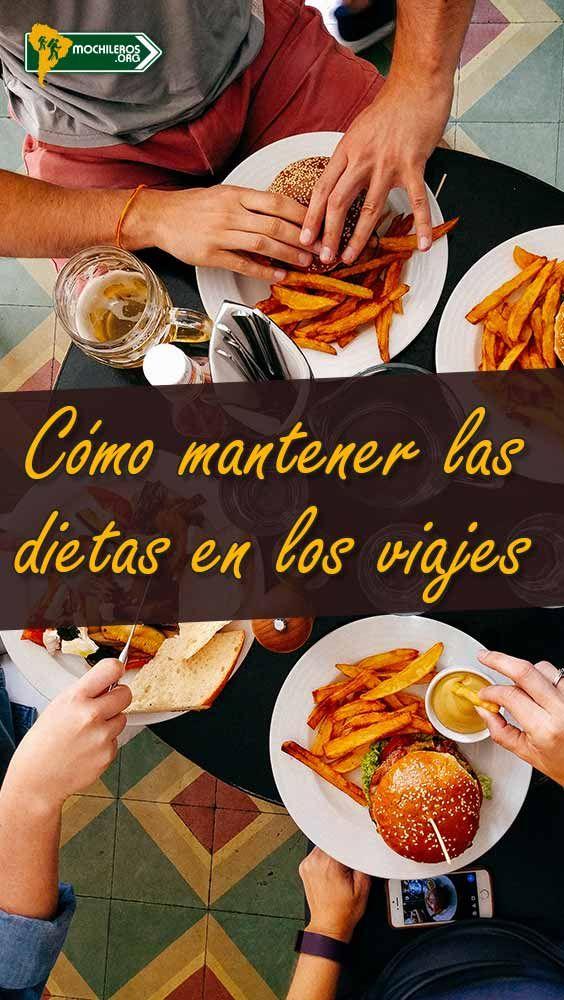 Cómo hacer dieta y comer sano mientras estas de viaje.  #dieta #comida #comidasaludable #comidasana #diet #viajes #mochileros