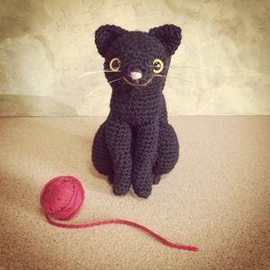 おすまし黒猫のあみぐるみ│みんなの手づくり作品展 応募作品 ... 【作品説明】シンプルにこま編みのみで編む、黒猫のあみぐるみです。 【アピールポイント】いかにも猫らしい、なだらかな曲線を再現できるように編みました。  編み図 ...
