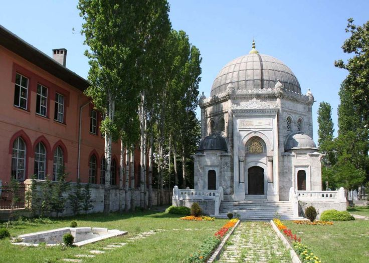 The mausoleum of Sultan Mehmed V
