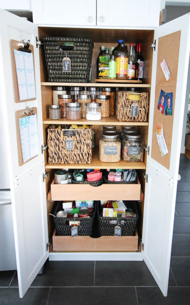 How to Organize Your Pantry and Why Even Bother with Free Printable Shopping List and Weekly Meal Planning Sheets at thehappyhousie.com-18
