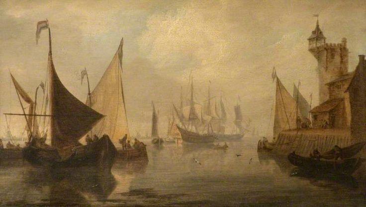 Shipping Scene by Jan van Goyen