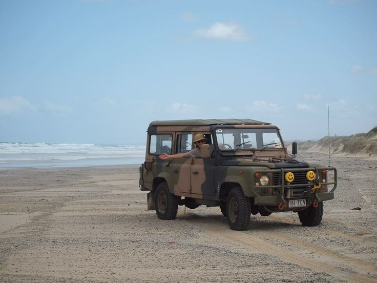 """""""It's a very special General's transport from the Australian Army. It features a galvanised chassis, lifted suspension, PTO winch and helicopter lifting rings front and back. Under the bonnet is a 3.9L Isuzu motor factory fitted. I've added air-conditioning, GPS and central locking."""""""