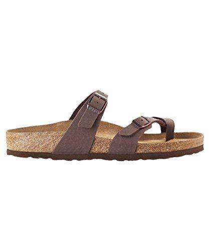3b104b607004 Birkenstock Women´s Mayari Mocca Birkibuc Sandals 37 EU (M4 L6 US) N 071063  Review