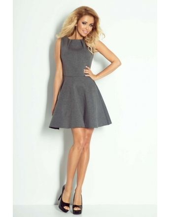 Grey dress #fashioneda