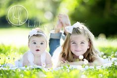 Love this. I always find it hard to photograph the baby and my 6yr old together, this is great inspiration