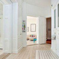 Best 25 parquet blanchi ideas on pinterest boiserie en bois blanche planc - Parquet blanchi scandinave ...