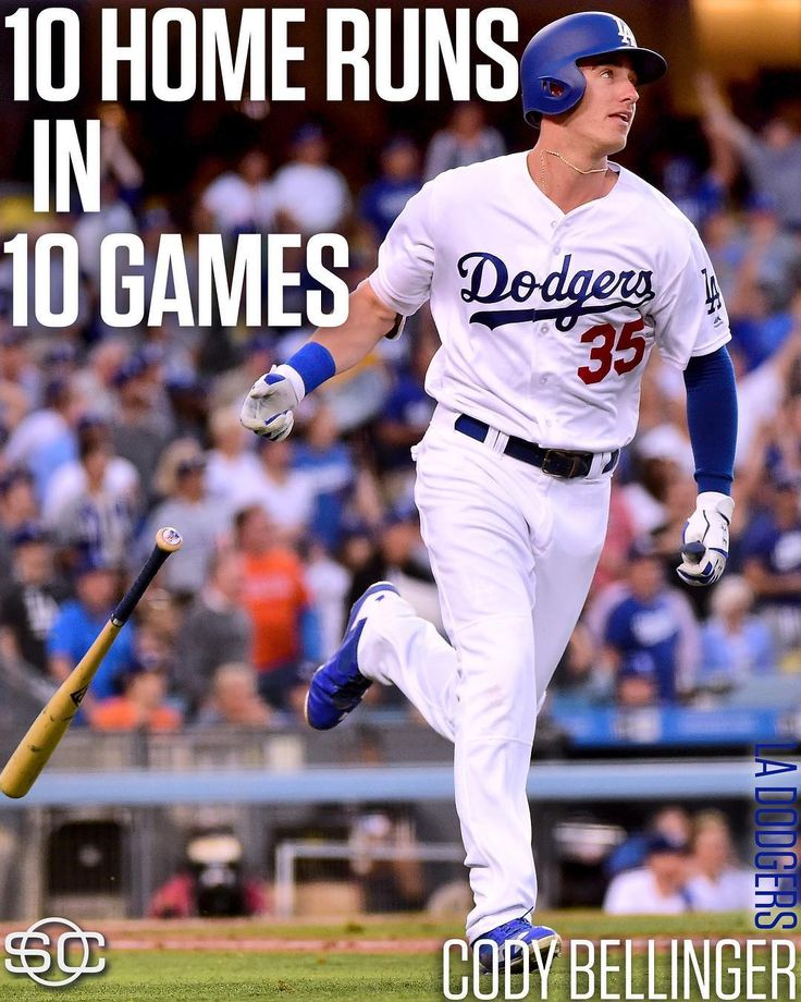 After Cody Bellinger's home run Tuesday night, he is the first rookie in MLB history with 10 home runs in a 10-game span. (via Elias Sports)