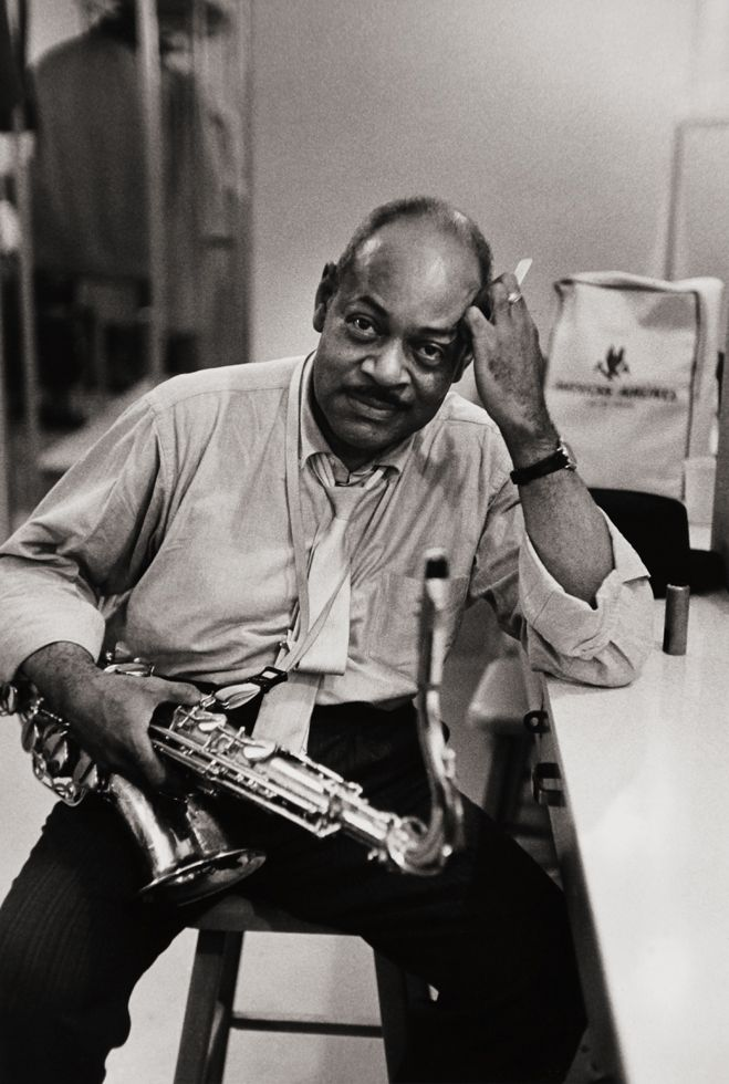 Coleman Hawkins by William Claxton