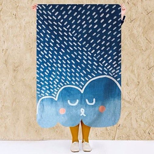 Lovely indigo blankets from @born_n_monday such fun #kidsinteriors #nursery #decor #blankets #bornonmonday: