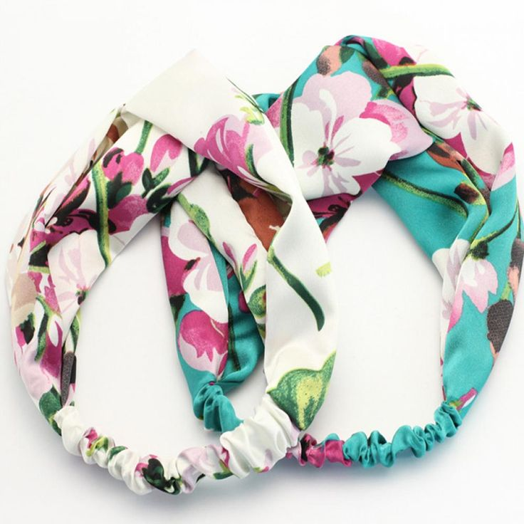 Elastic Floral Headband //Price: $8.99 & FREE Shipping //     #hairsaleshop #hairaccessories