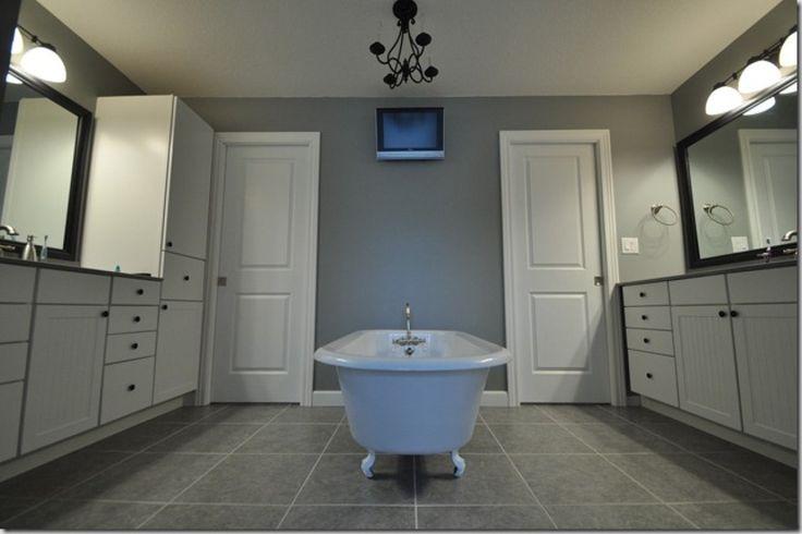 Master Bath: Decor, House Tours, Wall Color, Master Bathrooms, Bathroom Ideas, Bathroom Layout, Dog