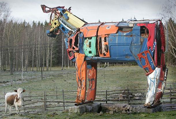 Miina Äkkijyrkkä cow