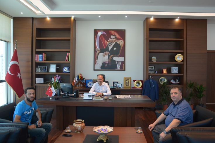 Odamız Yönetim Kurulu Başkanı İbrahim Gönül´e Ziyaretler Gerçekleştirildi