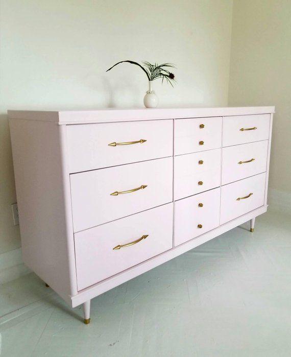 Sold. Mid century modern dresser credenza vintage dresser