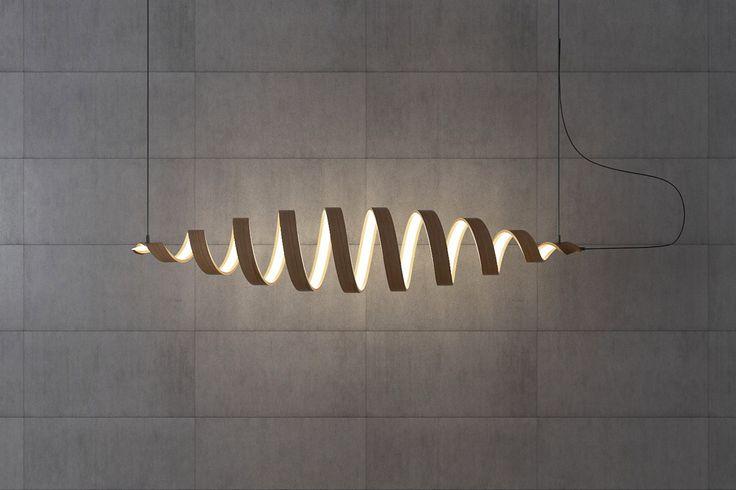 Украинский дизайнер Андрей Ковальский создал серию именно таких светильников, которые призваны полностью изменять пространство вокруг себя, привлекая всеобщее внимание. http://goodroom.com.ua/mag/spiralnye-svetilniki-ot-andreya-kovalskogo/  #Interiors #lighting #lamp #design #Ukraine