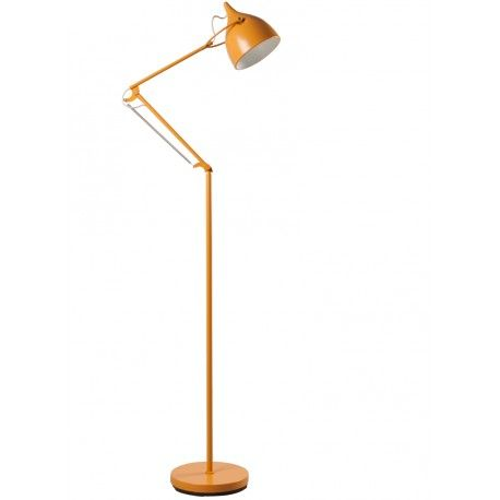 Żółta lampa podłogowa Reader - Zuiver
