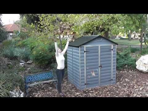Palram Shed Assembly Guide - View the full range: http://www.gardensite.co.uk/Palram_Sheds/ Palram's range of Skylight sheds offer an easy and convenient ins...