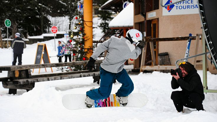 PopUp Collective behind the scenes #winter #snow #snowboarders #photography #content