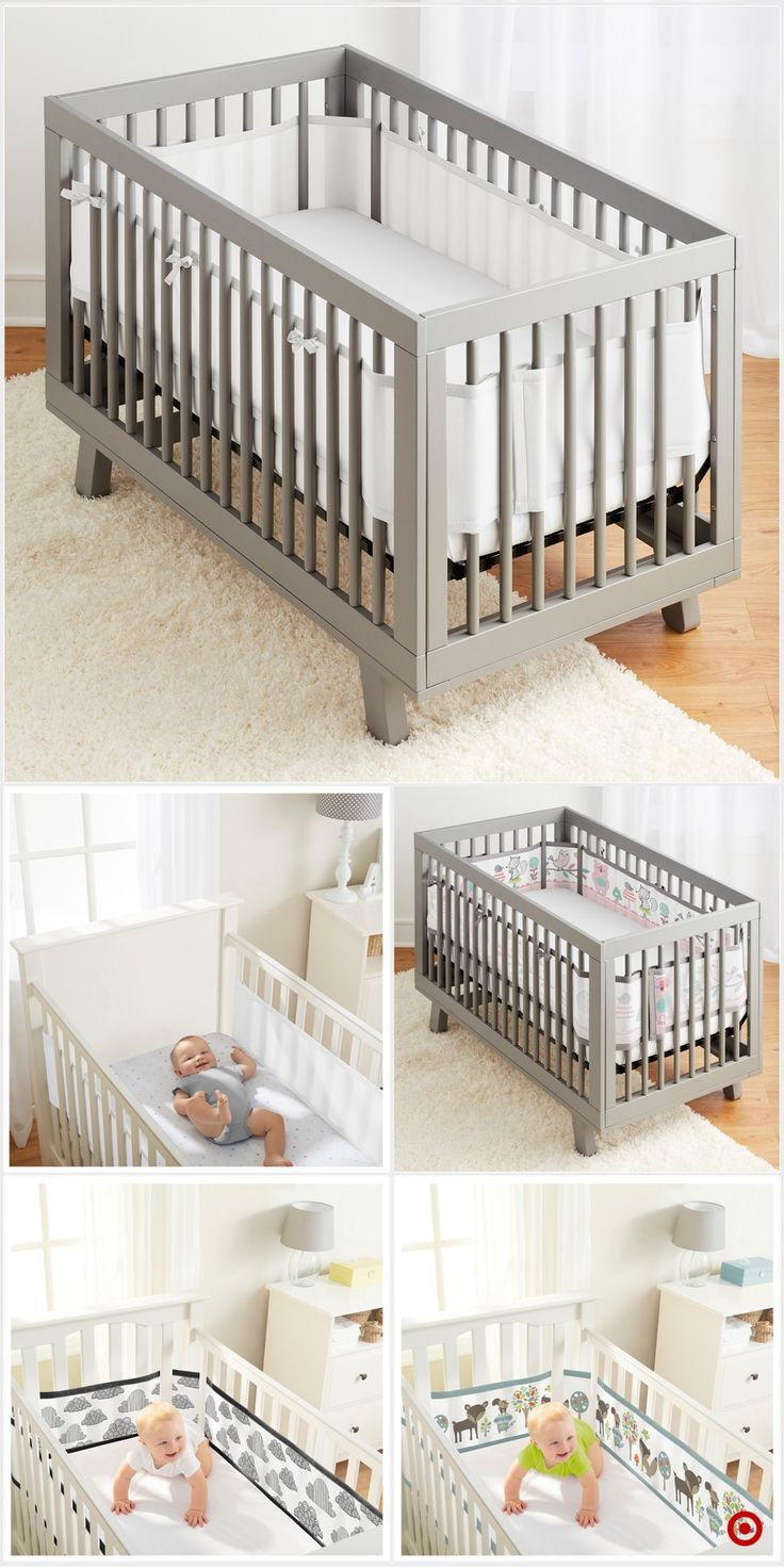 Shop Target For Crib Liner You Will Love At Great Low Prices Free Shipping On Orders Of 35 Or Free Same Day Pick Up In Baby Furniture Sets Baby Cribs Cribs