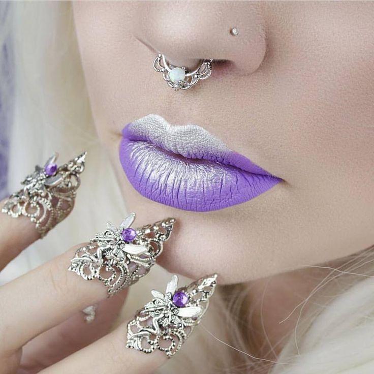Sugarpill Grand Tiara eyeshadow over Jeffree Star Blow Pony and Drug Lord lipsticks!
