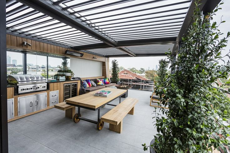 This Stylish Terrace Appeared On The Block Fans Vs Faves